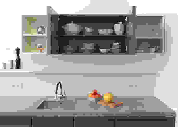 par Popstahl Küchen Moderne Fer / Acier