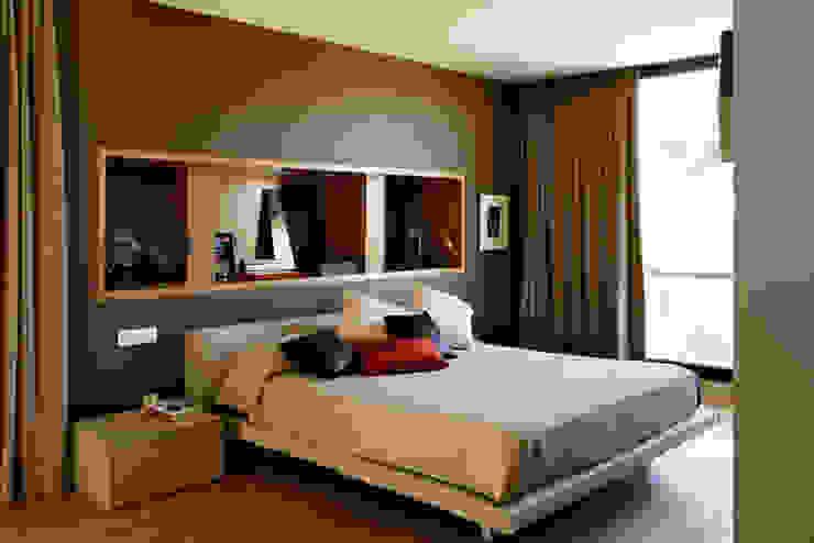 Bedroom by Otto Medem Arquitecto vanguardista en Madrid, Modern