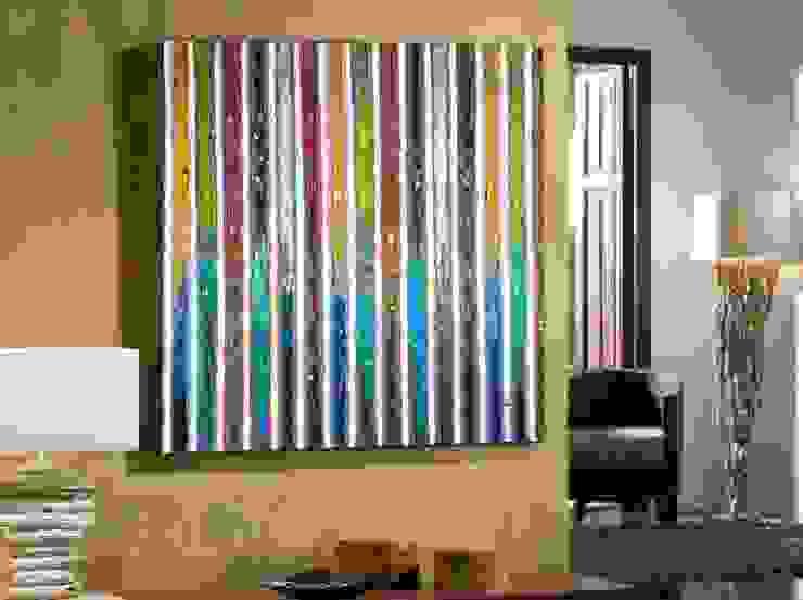 Cuadro Acrílico Abstracción I de Ámbar Muebles Moderno