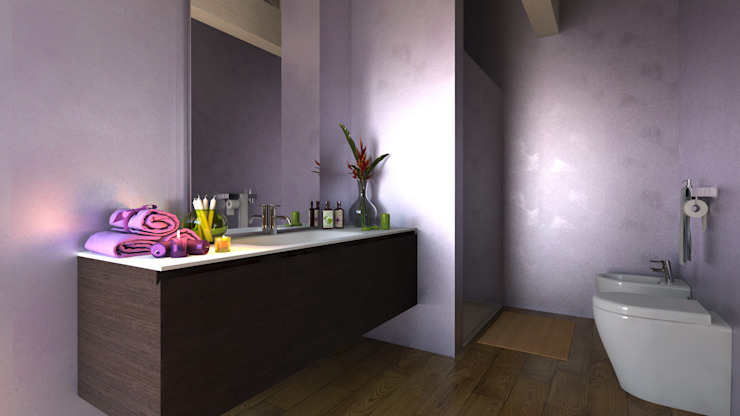 INTERIOR DESIGN di Architecture - Interior Design - Rendering Moderno