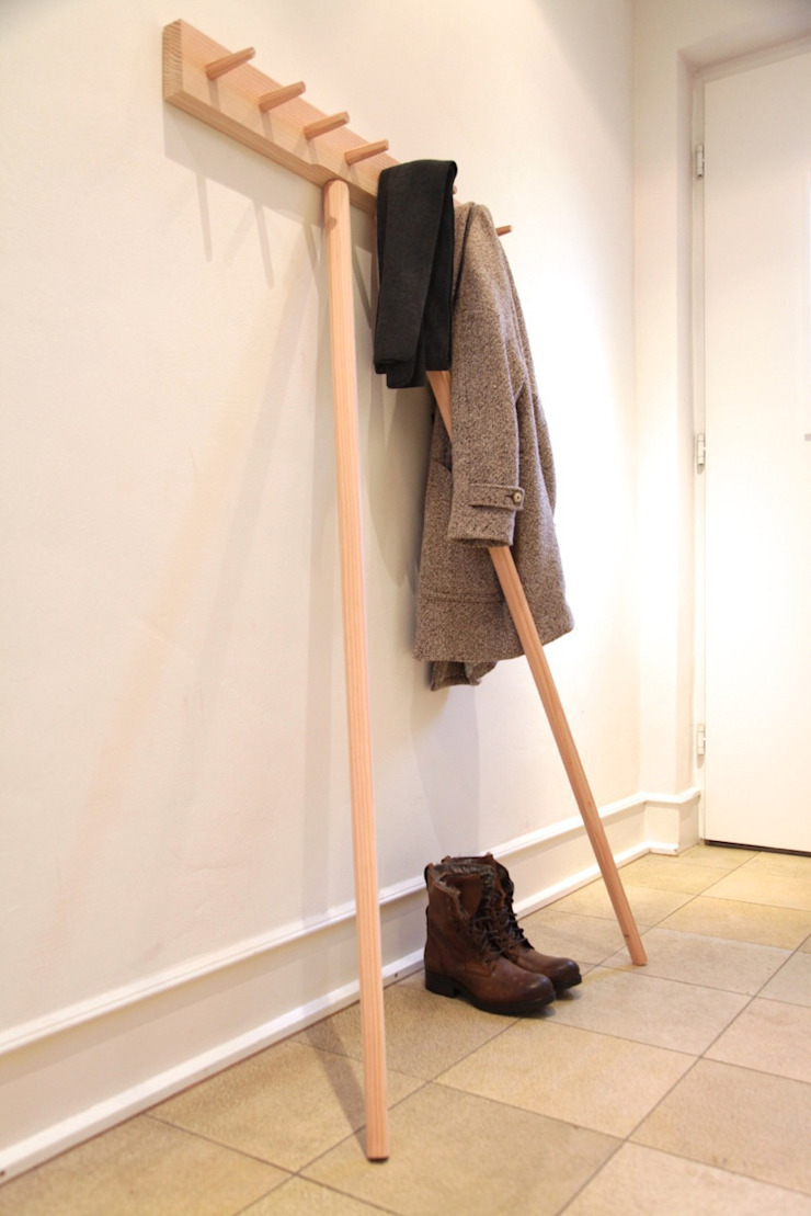 mherweg design Corridor, hallway & stairs Clothes hooks & stands