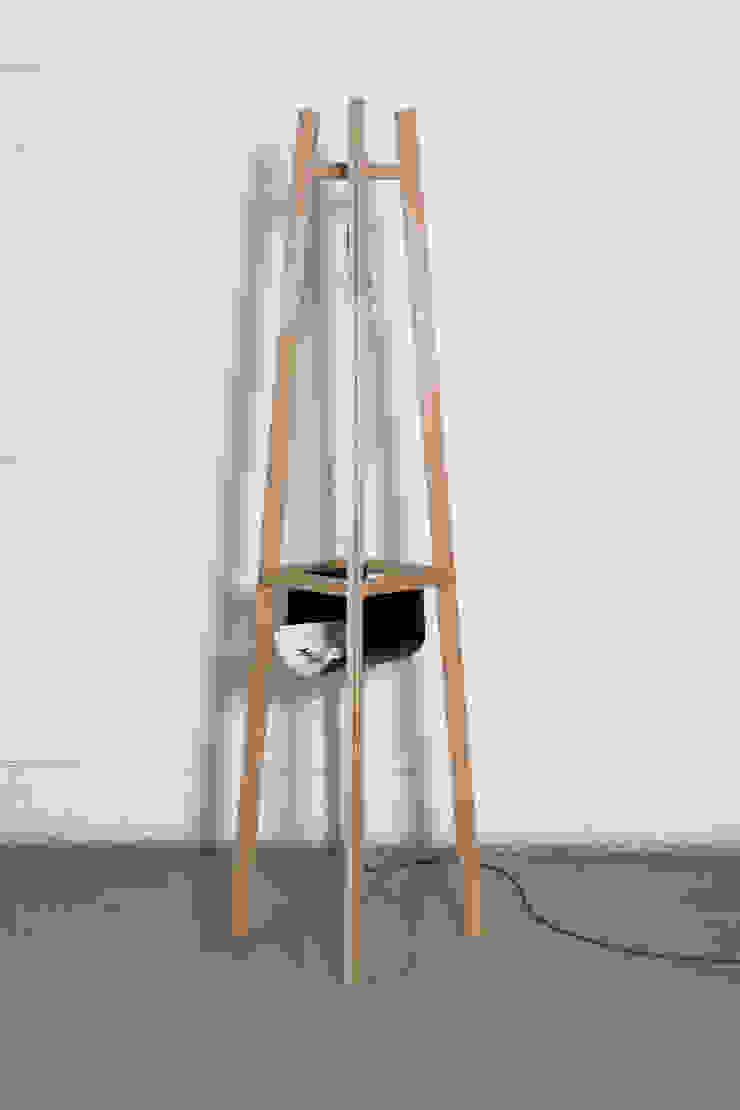 Lampadaire Moodlines par Gwénaëlle Follézou - Ebéniste Designer Moderne