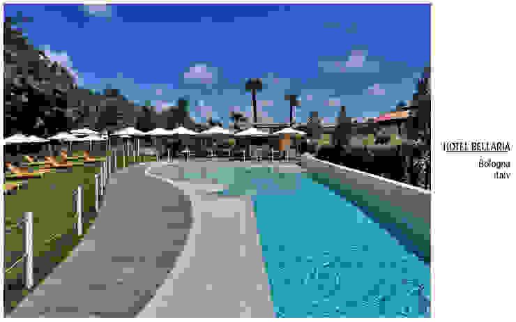 Havuz Kenarı Tropikal Oteller Plaza Yapı Malzemeleri Tropikal
