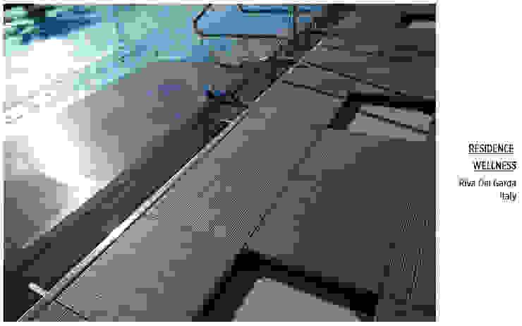 Havuz Kenarı Tropikal Havuz Plaza Yapı Malzemeleri Tropikal