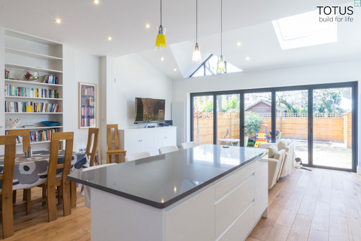 Extension in Sheen, SW14 Cocinas modernas de TOTUS Moderno