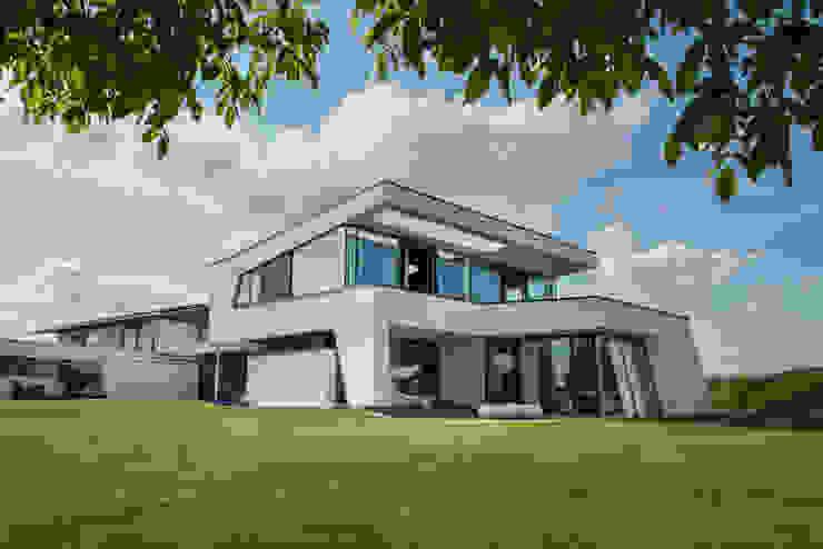 Pultdach Modern Interpretiert In Dynamischer Architektur By