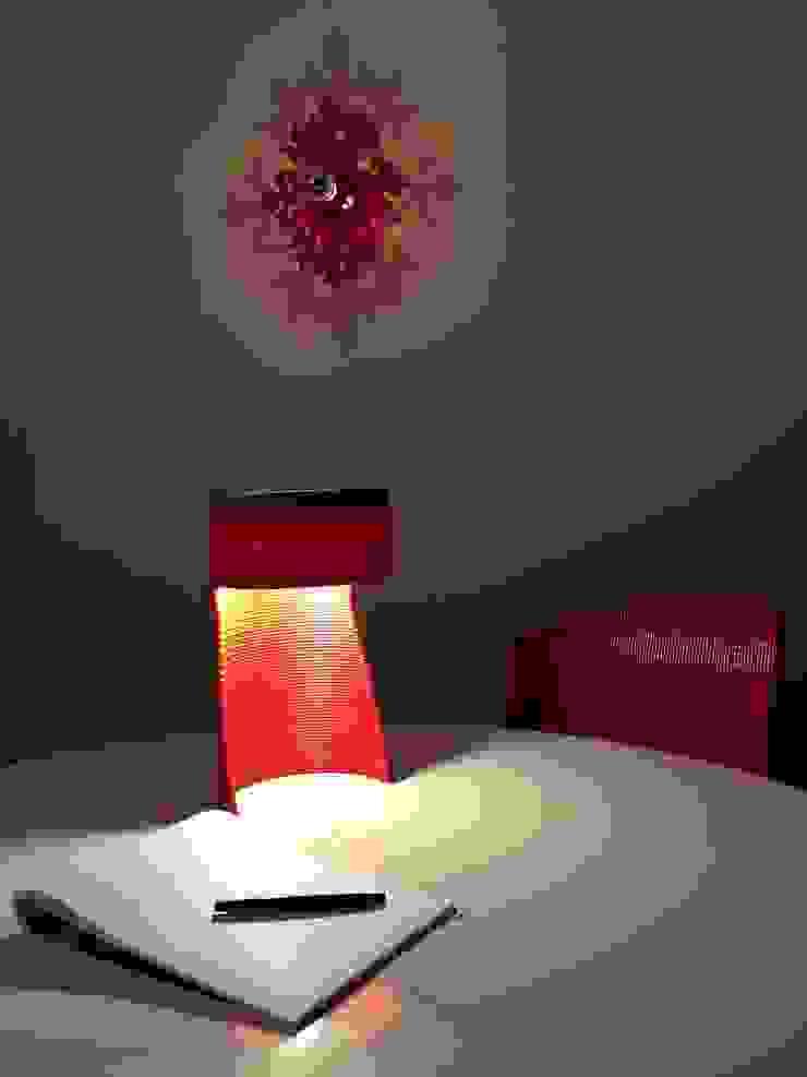 dégradé bleu et rouge par DRAWN Moderne