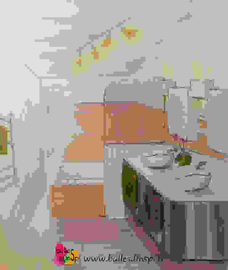 Projet de Relooking de salle de bains Salle de bain par Bulles d'Inspi