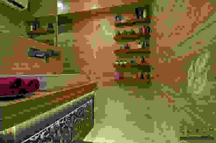 walk in closet Modern bathroom by ZERO9 Modern
