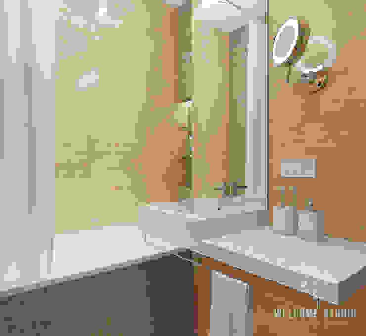 Ванная ракурс 1 Ванная комната в стиле минимализм от Мастерская дизайна Welcome Studio Минимализм