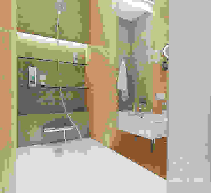Ванная ракурс 2 Ванная комната в стиле минимализм от Мастерская дизайна Welcome Studio Минимализм