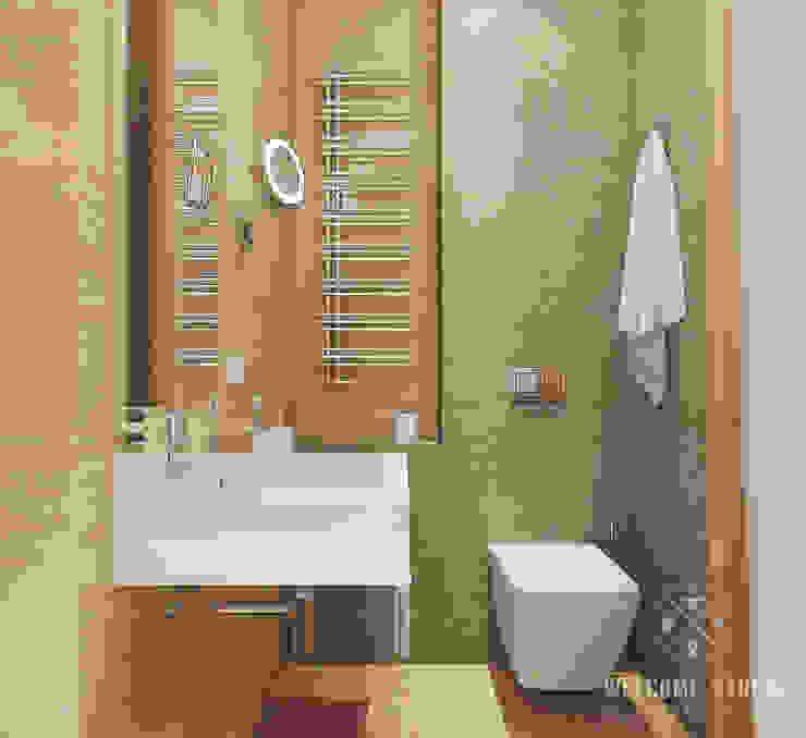 Ванная ракурс 3 Ванная комната в стиле минимализм от Мастерская дизайна Welcome Studio Минимализм