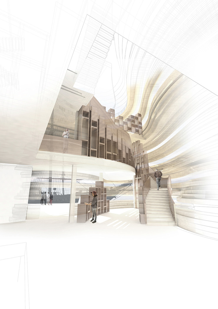The Manhattan Tea House Modern commercial spaces by Architectural Designer and Maker Modern