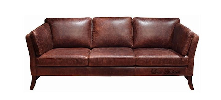 Rustic Earth Sofa: modern  by Locus Habitat,Modern