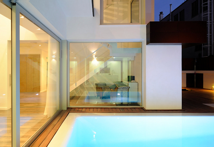 CASA MA Casas de estilo minimalista de SMB ARQUITECTURA Minimalista