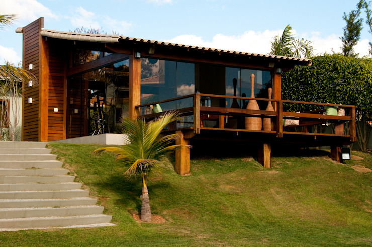 Houses by NATALIE TRAMONTINI ARQUITETURA E INTERIORES, Country