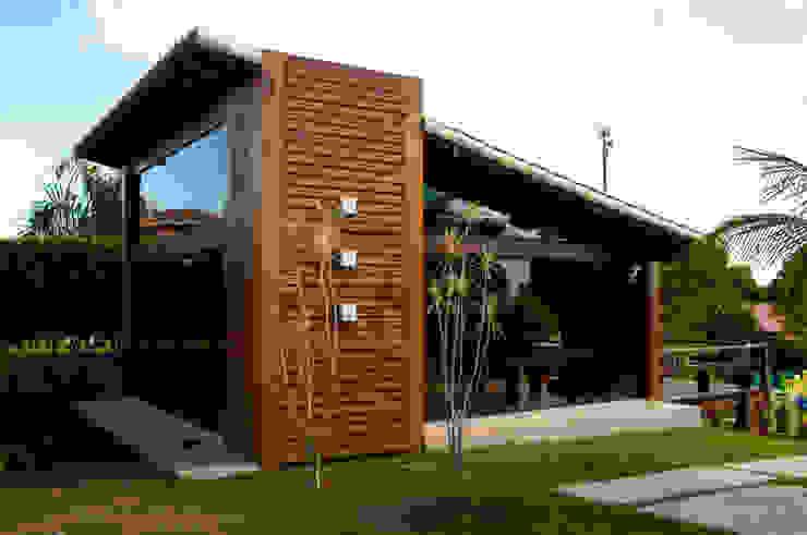Casas de estilo rural de NATALIE TRAMONTINI ARQUITETURA E INTERIORES Rural