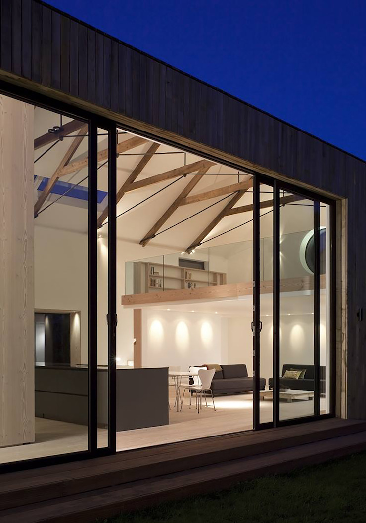 M House Modern windows & doors by JAMIE FALLA ARCHITECTURE Modern