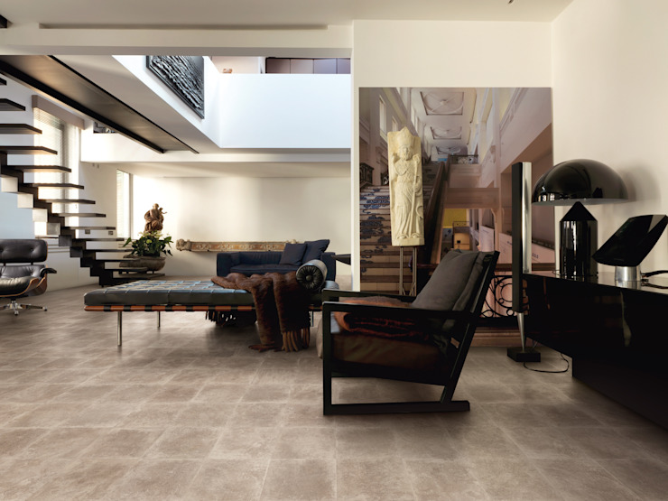 Petra Nut 30x30 Amb Living by Emilceramica Group