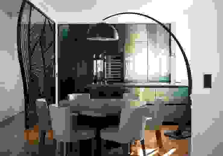 Projekty,  Kuchnia zaprojektowane przez Philippe Conzade, Eklektyczny