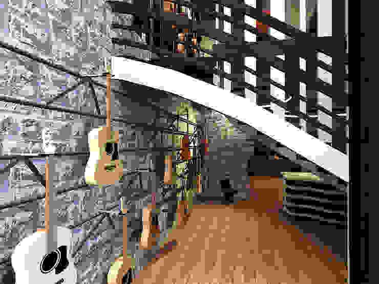Artisant Luthier Espaces commerciaux originaux par ARtchidesign Éclectique