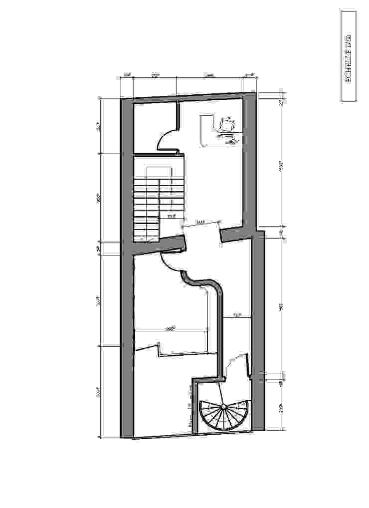 Plan 1er - Luthier Espaces commerciaux originaux par ARtchidesign Éclectique