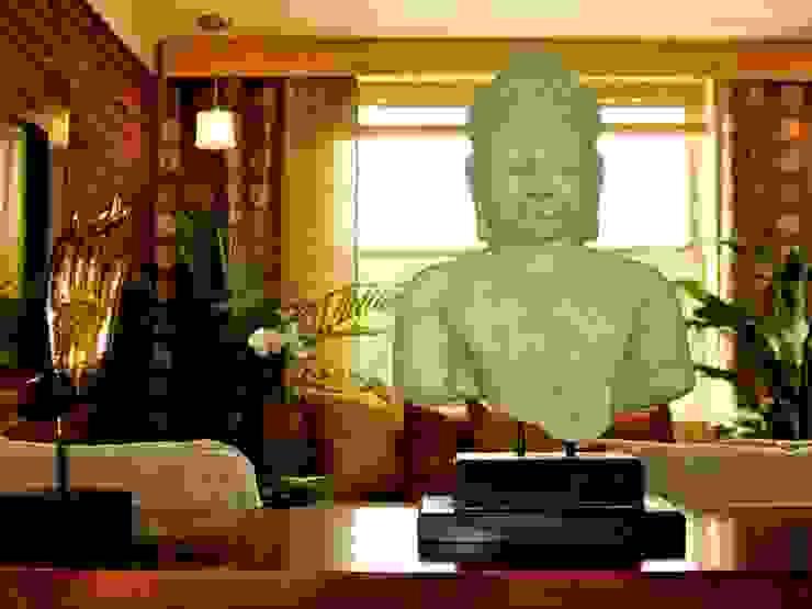 Sculptures, the new art Гостиная в азиатском стиле от DT Азиатский