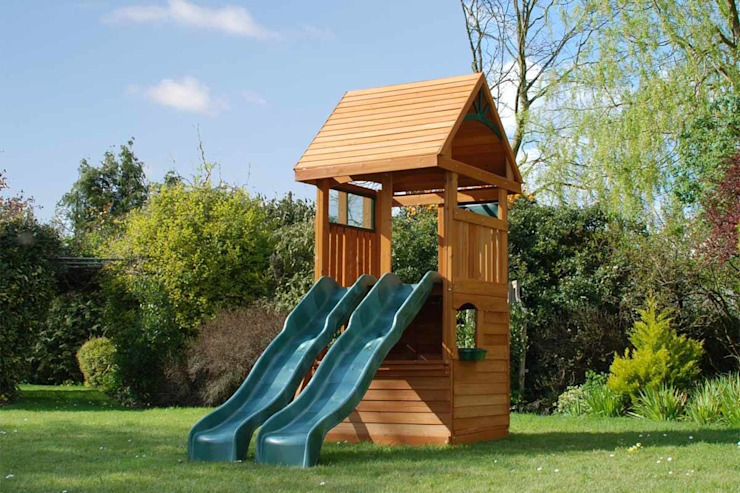 Climbing Frame for Smaller Garden Modern Garden by Selwood Products Ltd Modern