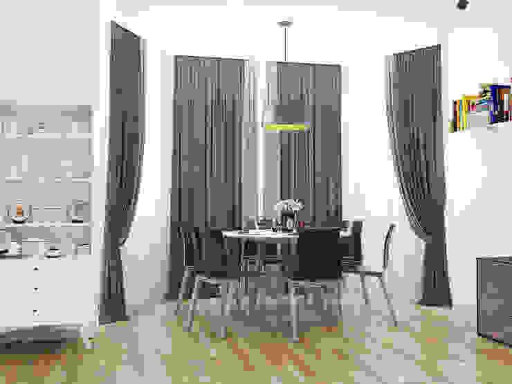 Dining area Столовая комната в стиле минимализм от AbcDesign Минимализм
