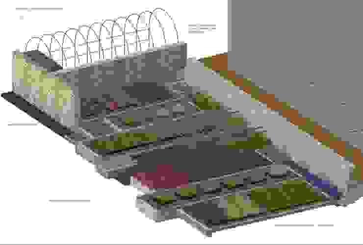 Mediterranean style garden by A3PAESAGGIO Mediterranean