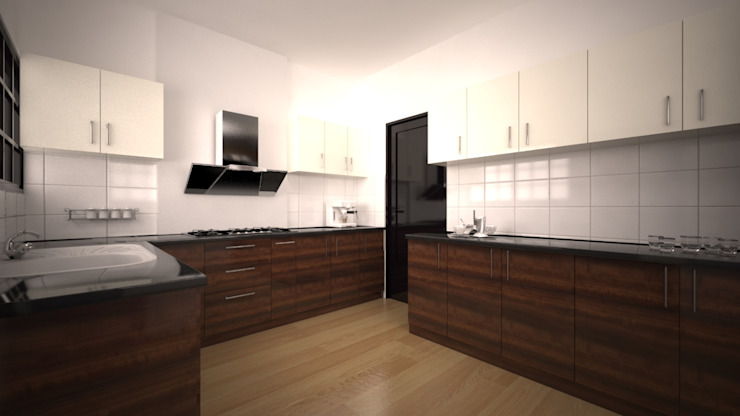 Kitchen :  Kitchen by Neeras Design Studio