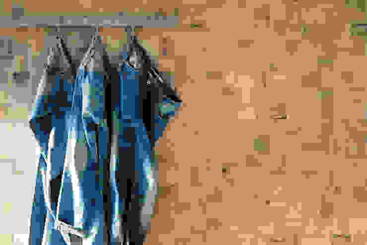 Millelegni Scottish Oak Intarsio 30x30 Jeans by Emilceramica Group