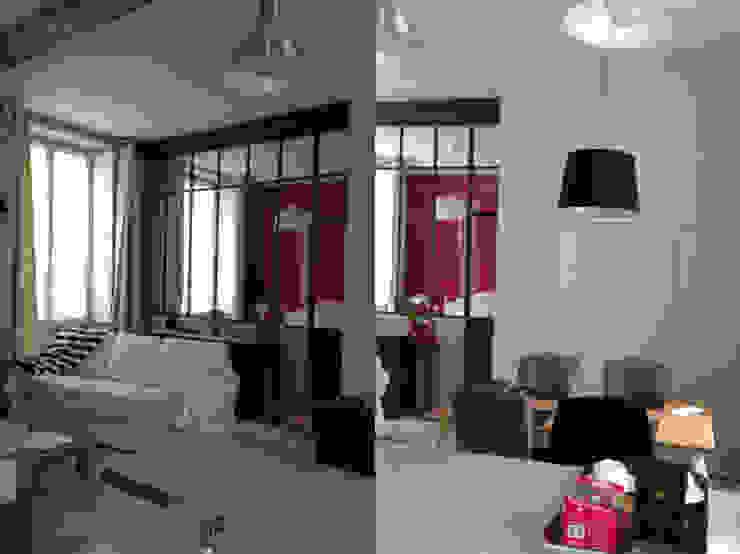Appartement dans quartier historique de Dijon par Kreatitud Déco Design Moderne