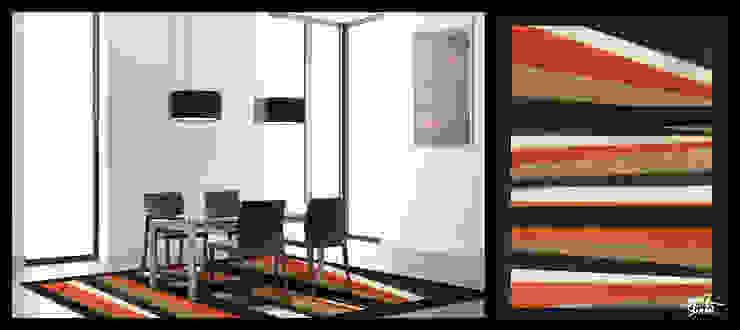 Swen Simon-Abstract Lines Maisons modernes par Yunikart Moderne