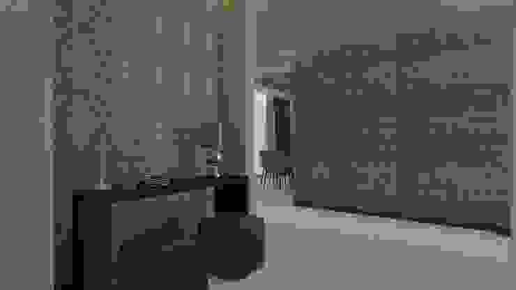 Proyecto A.A Pasillos, vestíbulos y escaleras modernos de Beatriz Quiroz Interiorismo Moderno