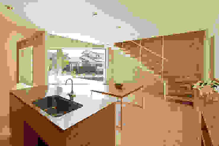 SHIRASU モダンな キッチン の ARAY Architecture モダン