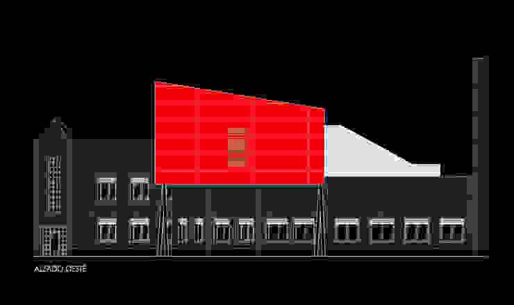 Ampliación de biblioteca Campus universitario León de URBAQ arquitectos Moderno