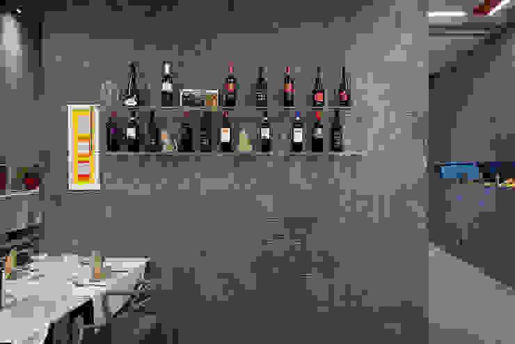 Progetto di Ristorante in Pietra Lavica Gastronomia in stile moderno di Ranieri Pietra Lavica Moderno