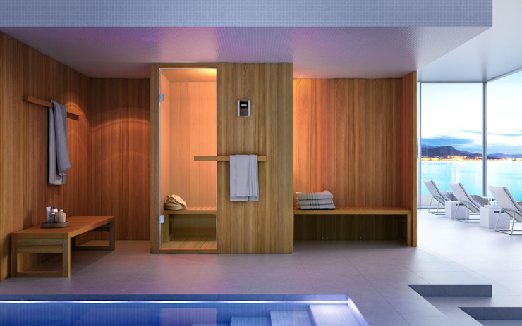 homify SpaPool & spa accessories