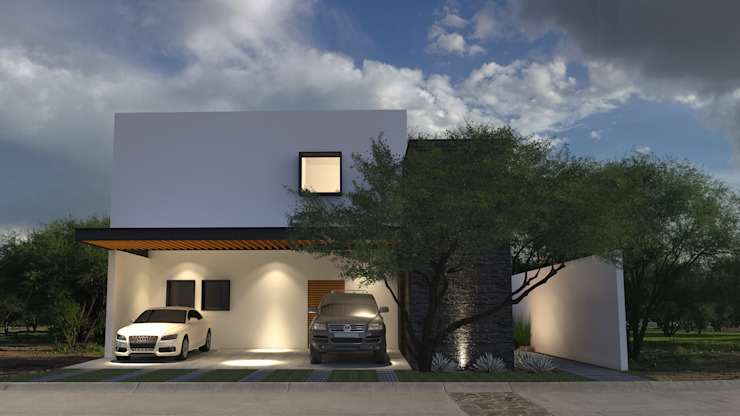 モダンな 家 の AR Arquitectos モダン
