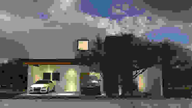 R Casas modernas de AR Arquitectos Moderno