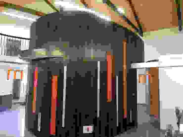 Mediateca en León Salas multimedia de estilo moderno de URBAQ arquitectos Moderno