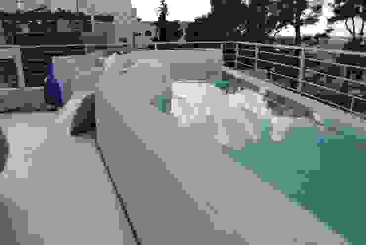 Villa al mare- Bisceglie di Silvia Cassetta kNoWarchitecture Mediterraneo