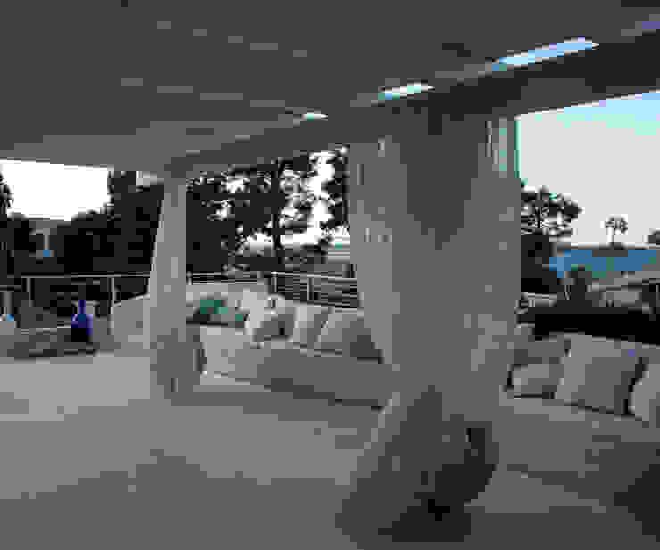 Roof-garden di Silvia Cassetta kNoWarchitecture Mediterraneo