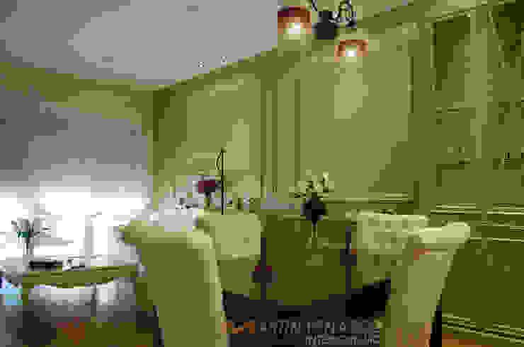 Diseño de salón y boiserie MTPinteriorismo de MARTINPEÑASCO interiorismo Clásico
