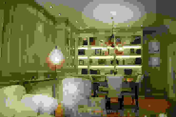 Diseño de Librería, vitrina y boiserie de MARTINPEÑASCO interiorismo Clásico