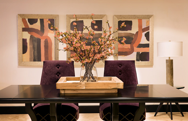 Eclectic style dining room by LUXOREMA Eclectic