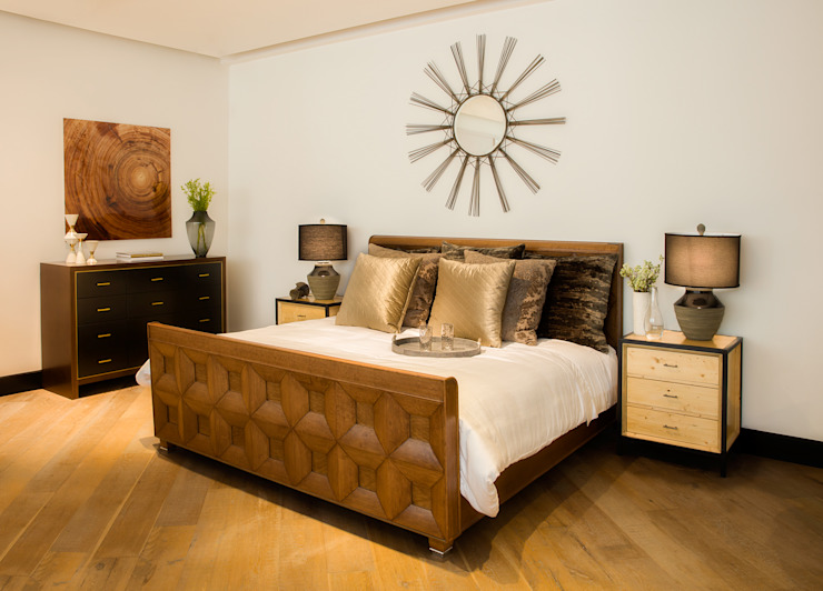 Eclectic style bedroom by LUXOREMA Eclectic
