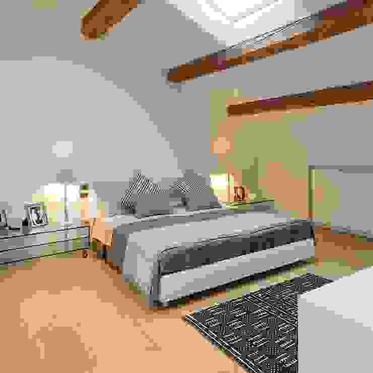 CAMERA DA LETTO Camera da letto moderna di M A+D Menzo Architettura+Design Moderno