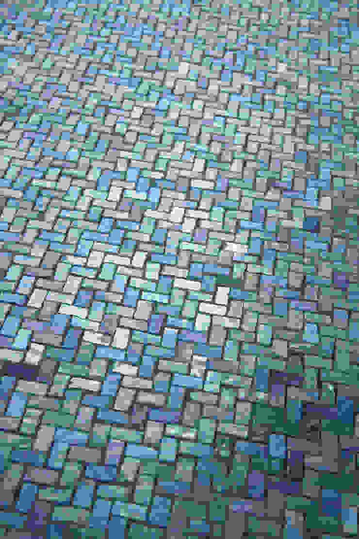 Zerodesign Mosaico Mare Lustrato Verde/Azzurro by Emilceramica Group